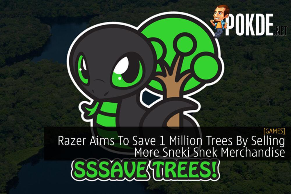Razer Sneki Snek 1 Million Trees cover final