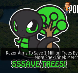 Razer Sneki Snek 1 Million Trees cover final