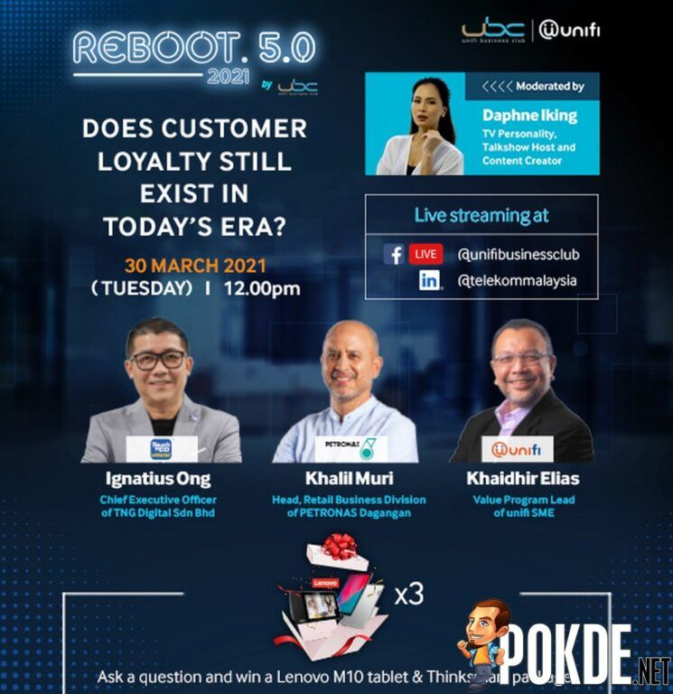 Unifi Empowering SMEs With REBOOT 5.0 Business Webinar Series 25