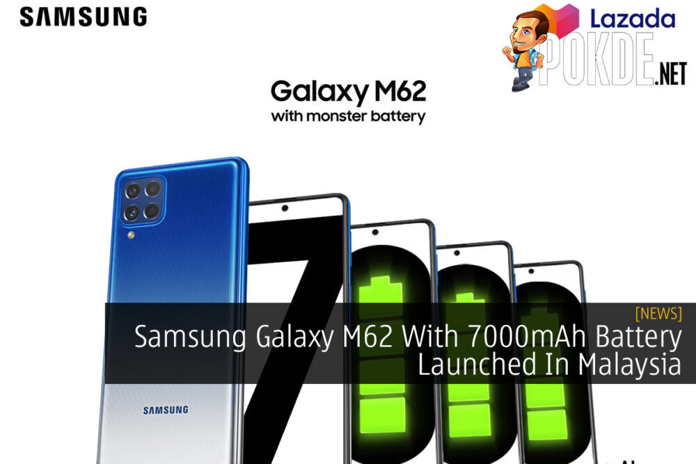 Samsung Galaxy M62 With 7000mAh Battery Launched In Malaysia 18