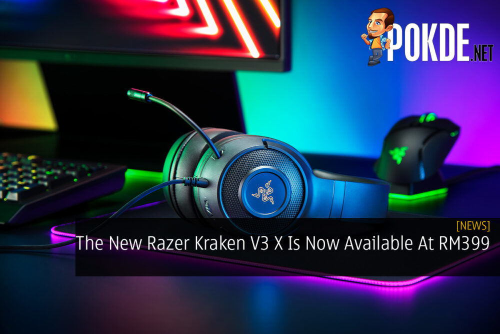 The New Razer Kraken V3 X Is Now Available At RM399 25