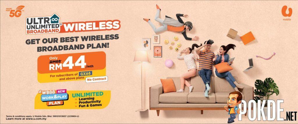 U Mobile Ultra Unlimited Wireless Broadband 1