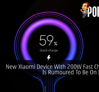 Xiaomi 200W fast charging cover