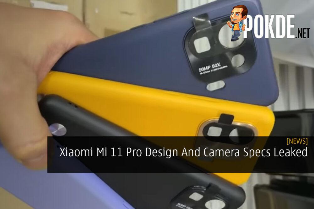 Xiaomi Mi 11 Pro Design And Camera Specs Leaked 23