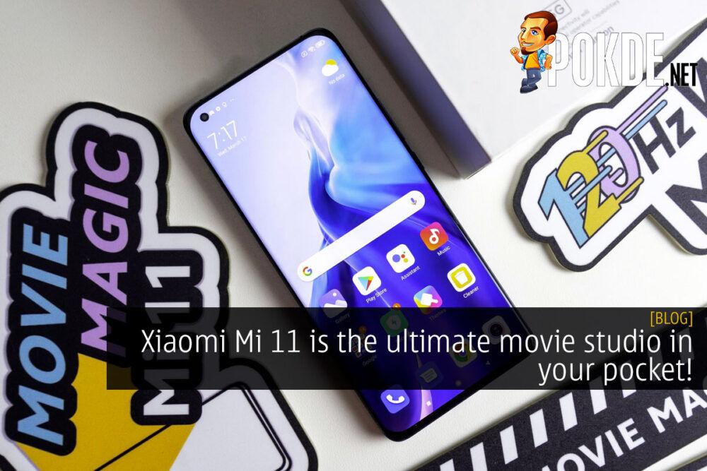 Xiaomi Mi 11 ultimate studio pocket cover