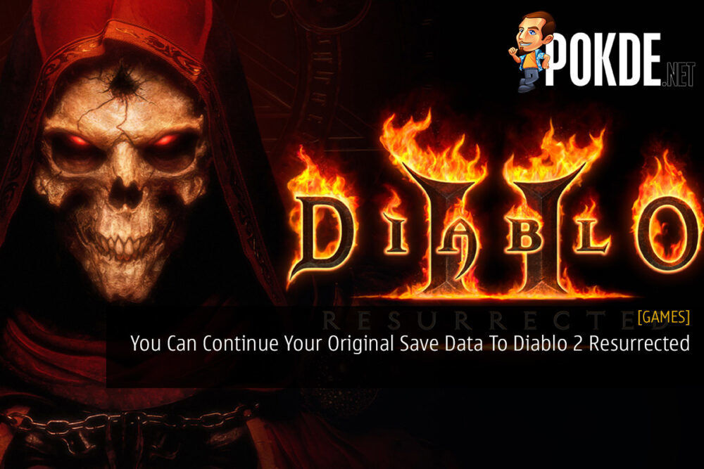 You Can Continue Your Original Save Data To Diablo 2 Resurrected 18