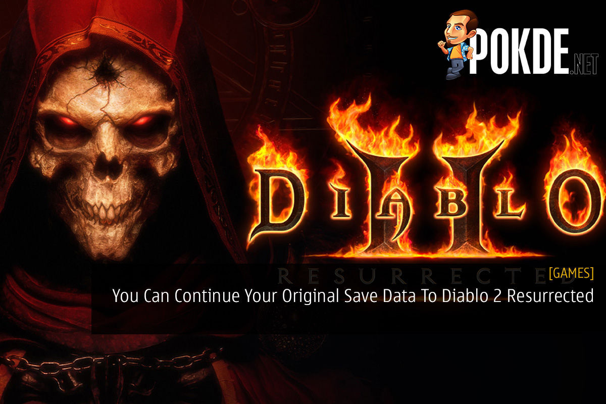 You Can Continue Your Original Save Data To Diablo 2 Resurrected 5