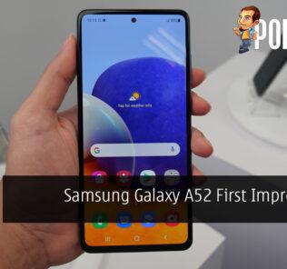 Samsung Galaxy A52 First Impressions