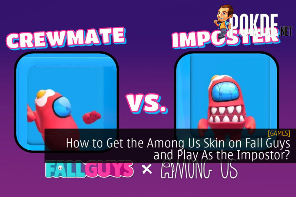 How to Get the Among Us Skin on Fall Guys and Play As the Impostor?