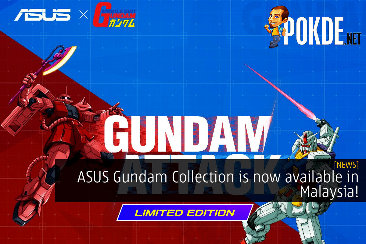 ASUS Gundam Collection is now available in Malaysia! 7