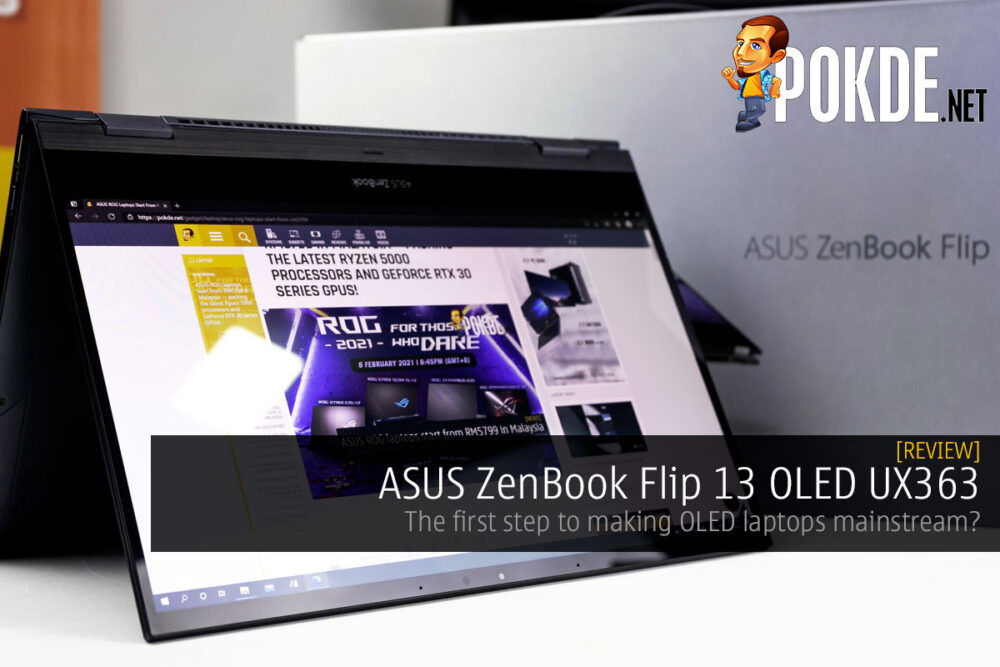 ASUS ZenBook Flip 13 OLED UX363 Review — the first step to making OLED laptops mainstream? 20