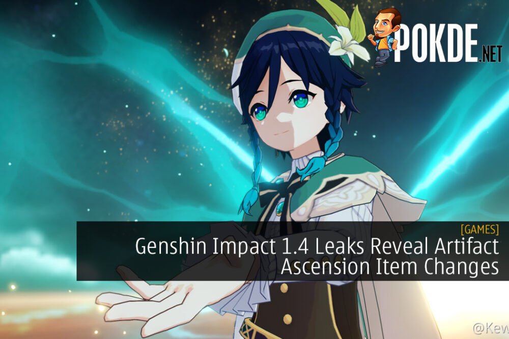 Genshin Impact 1.4 Leaks Reveal Artifact Ascension Item Changes