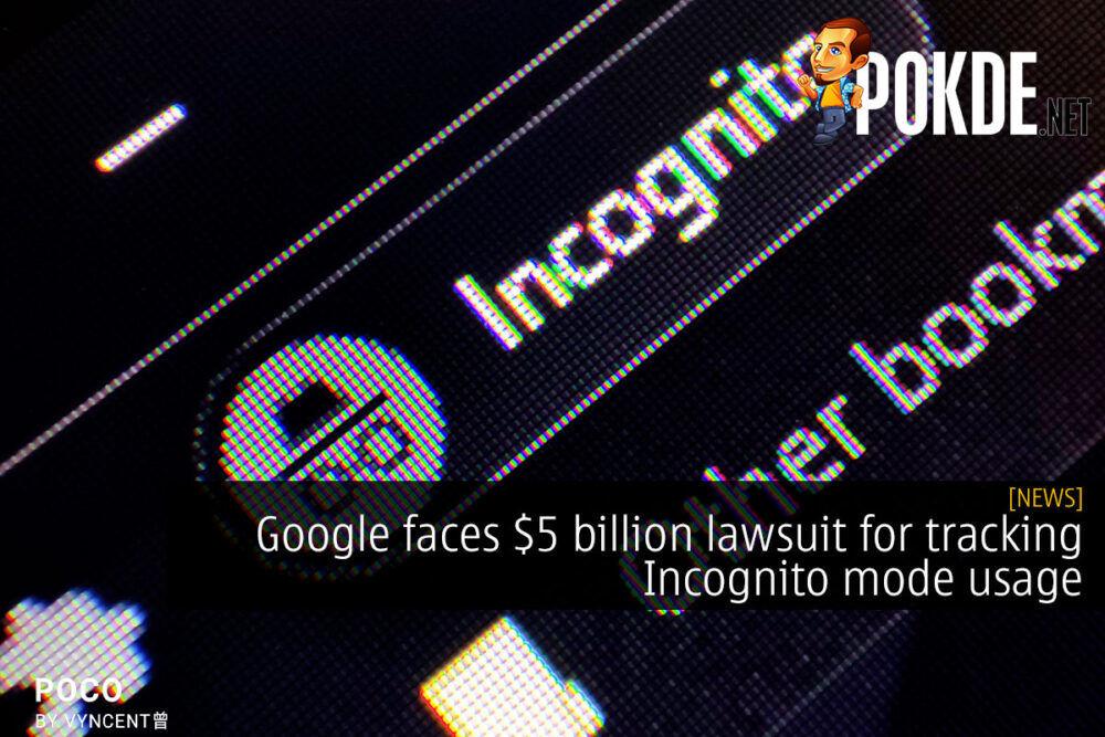 google incognito 5 billion lawsuit cover