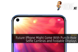 iPhone Punch-Hole Camera Foldable Displays cover