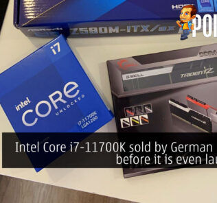 intel core i7-11700k sold out german cover