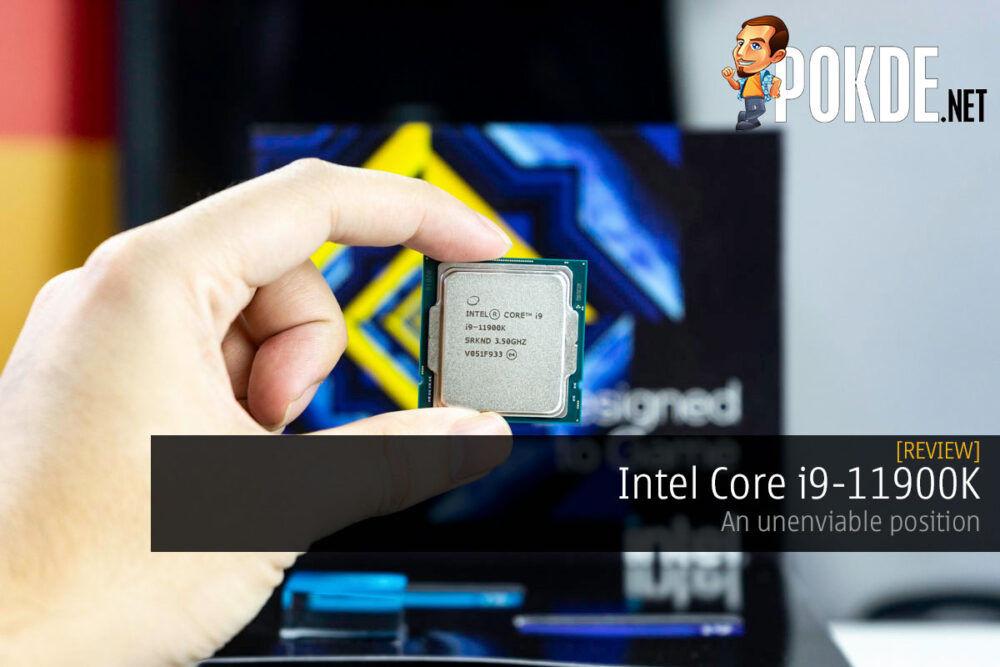intel core i9-11900k review unenviable position cover