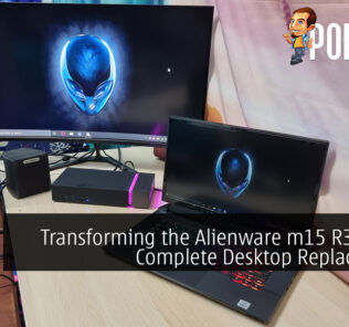 Transforming the Alienware m15 R3 Into A Complete Desktop Replacement