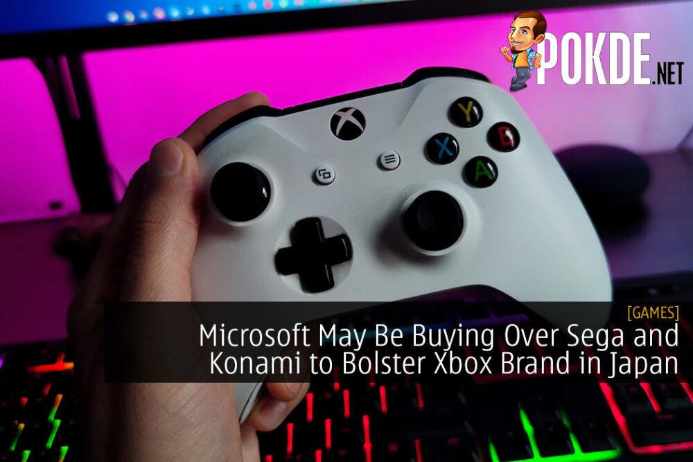 Microsoft May Be Buying Over Sega and Konami to Bolster Xbox Brand in Japan