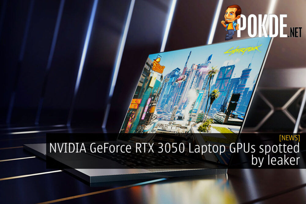 NVIDIA GeForce RTX 3050 Laptop GPUs spotted by leaker 21
