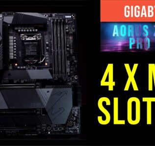 Gigabyte Aorus Z590 Pro Ax Overview -4 M.2 Slots? Storage overwhelming 23