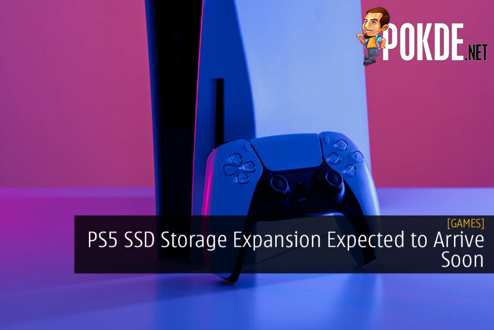 PS5 SSD Storage Expansion Expected to Arrive Soon