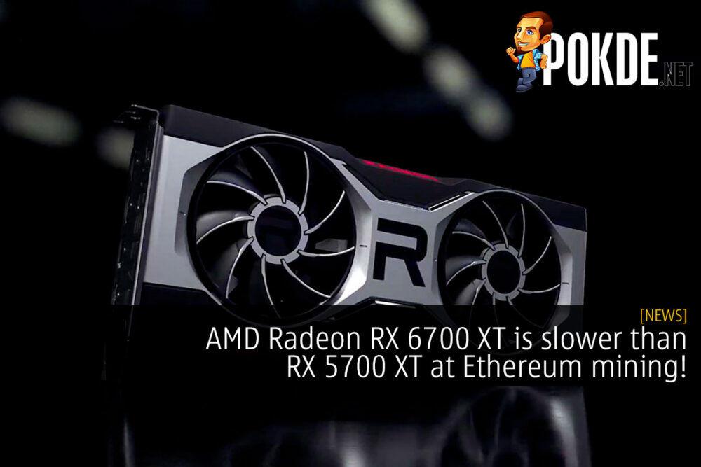 AMD Radeon RX 6700 XT is slower than RX 5700 XT at Ethereum mining! 23