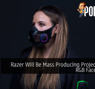 Razer Will Be Mass Producing Project Hazel RGB Face Masks