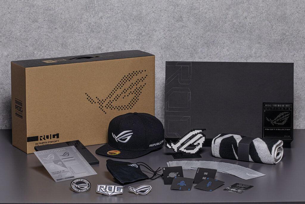 rog phone 5 ultimate fan giftbox