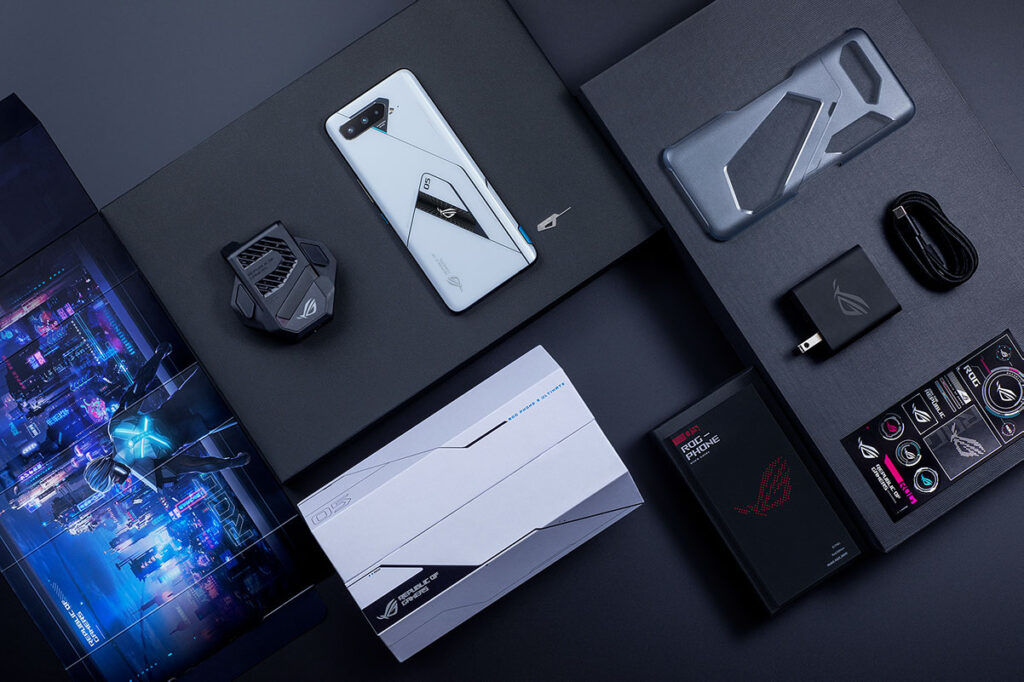 rog phone 5 ultimate package