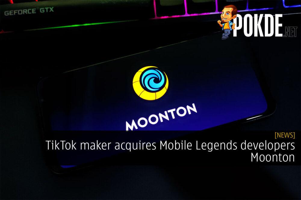 tiktok bytedance mobile legends moonton acquisition cover