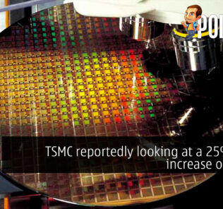 tsmc 25% price increase chips cover