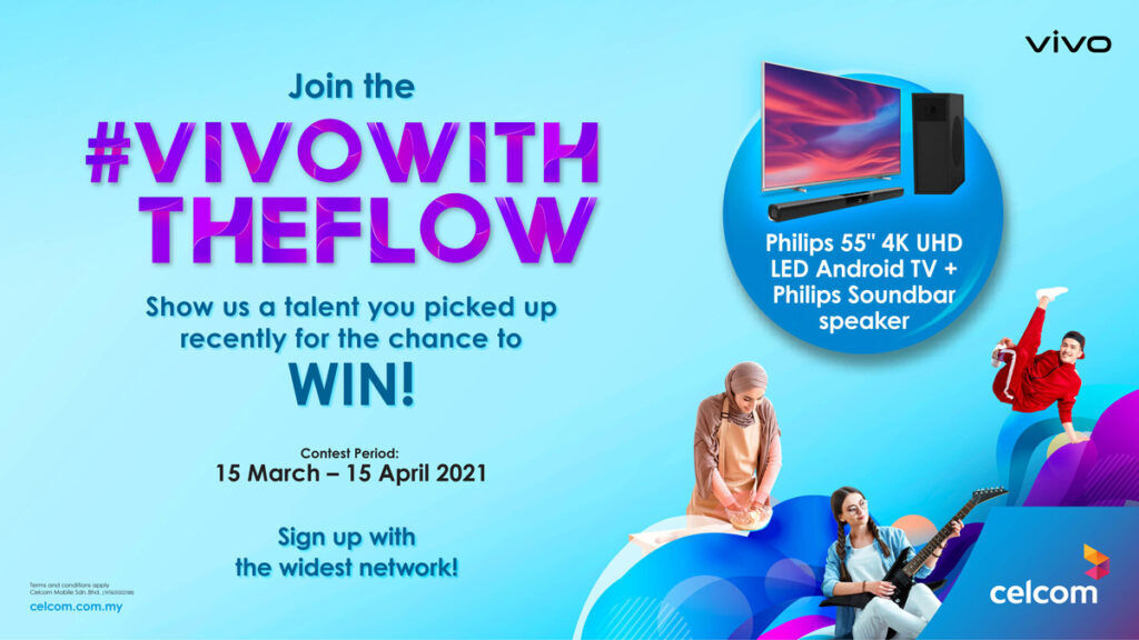 #vivoWithTheFlow contest