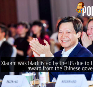 Xiaomi was blacklisted by the US due to Lei Jun's award from the Chinese government 32