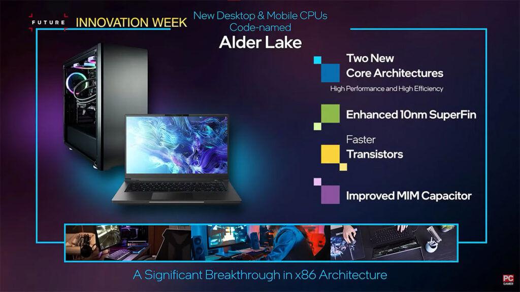 12th Gen Intel Alder Lake LGA1700