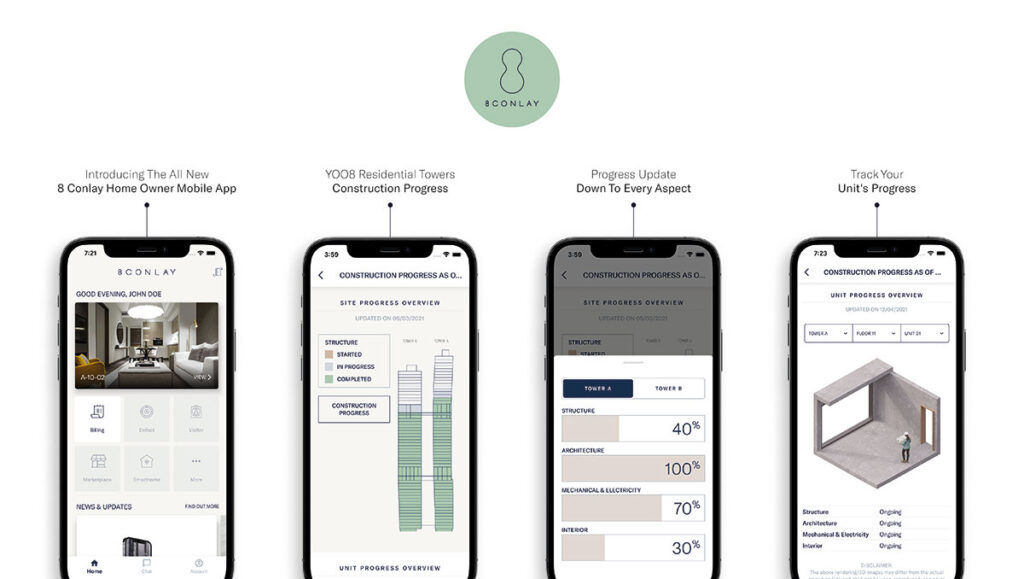 8 Conlay mobile app