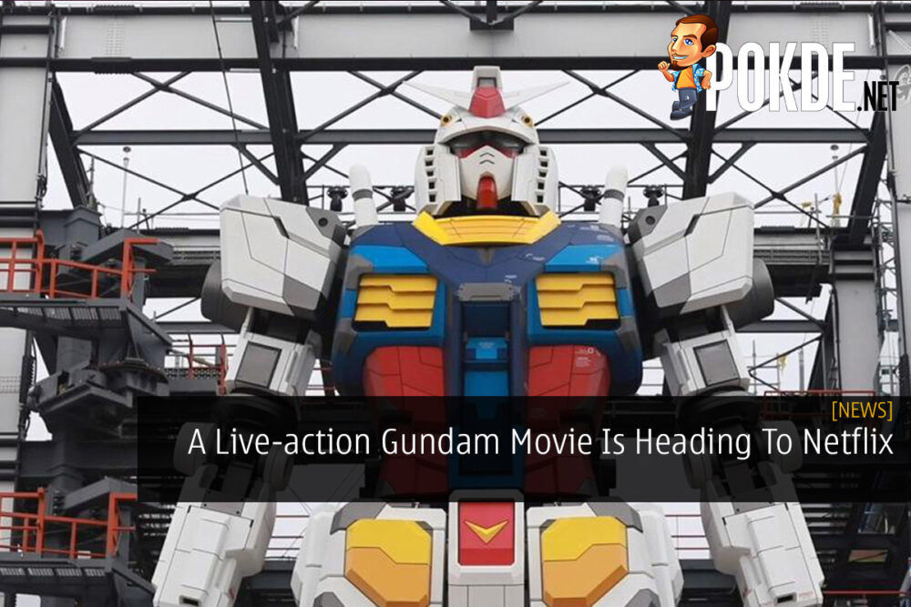A Live-action Gundam Movie Is Heading To Netflix 20