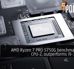 AMD Ryzen 7 pro 5750G cpu-z cover
