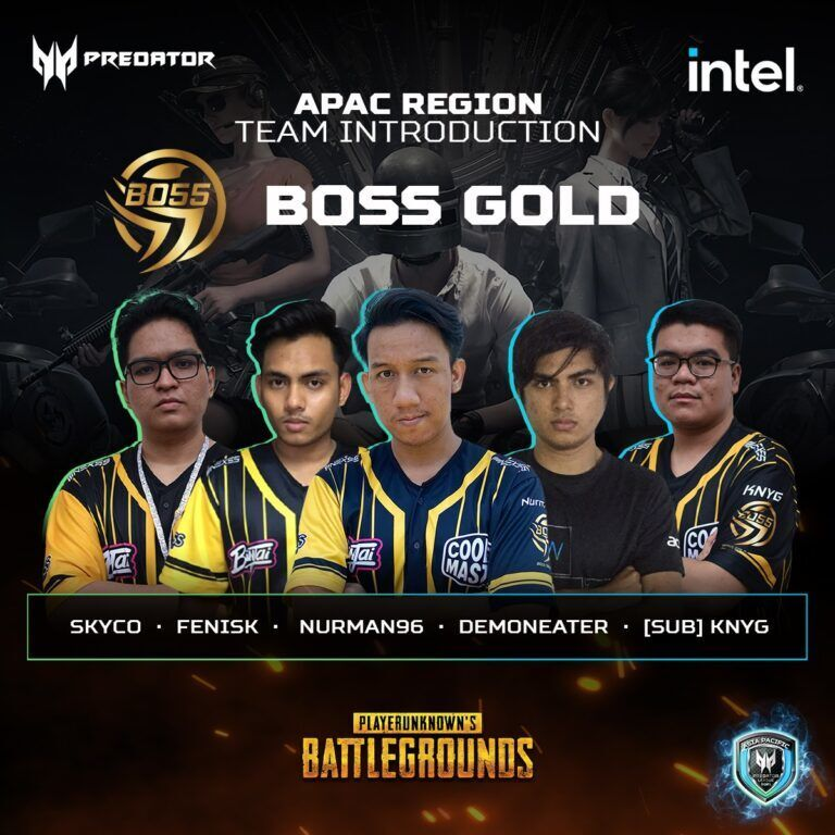 Asia Pacific Predator League 2020/21 Interview With Boss Gold