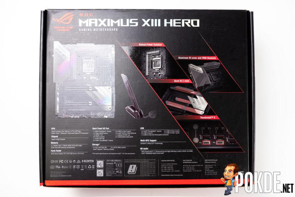 ASUS ROG Maximus XIII Hero Review-2