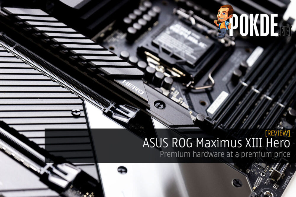 ASUS ROG Maximus XIII Hero Review cover
