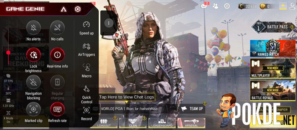 ASUS ROG Phone 5 review GameGenie