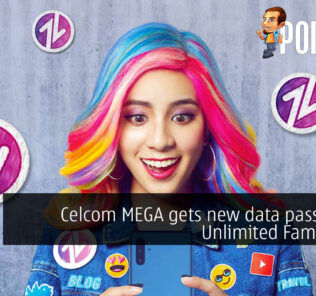 Celcom MEGA gets new data passes and Unlimited Family Line 22