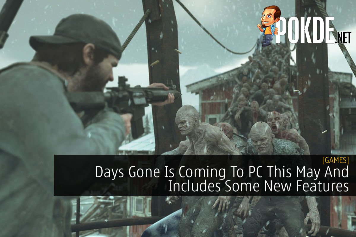 Days Gone PC cover