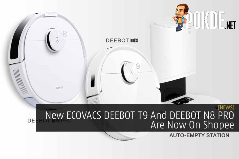 ECOVACS DEEBOT T9 And DEEBOT N8 PRO cover