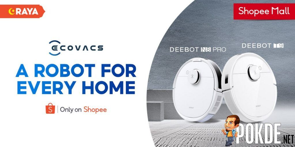 New ECOVACS DEEBOT T9 And DEEBOT N8 PRO Are Now On Shopee 19