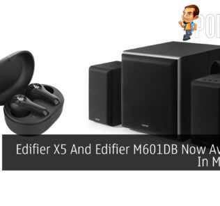 Edifier X5 And Edifier M601DB Now Available In Malaysia 21