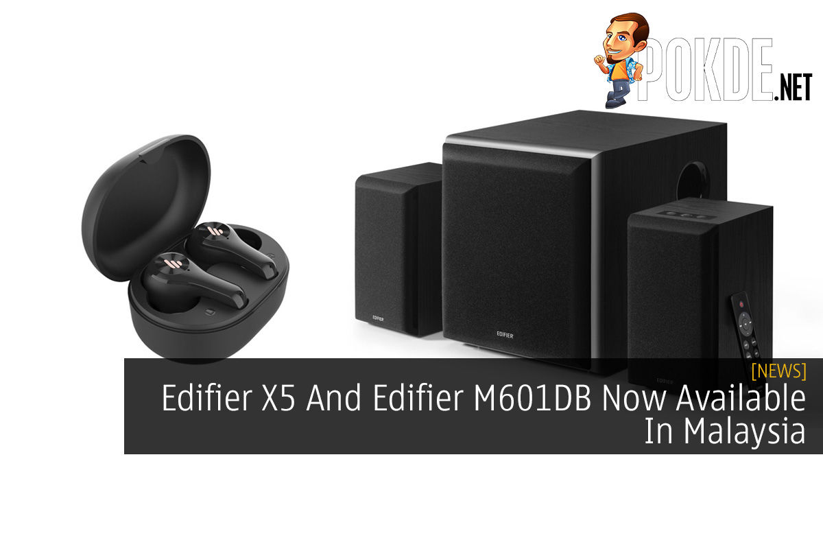 Edifier X5 And Edifier M601DB Now Available In Malaysia 4