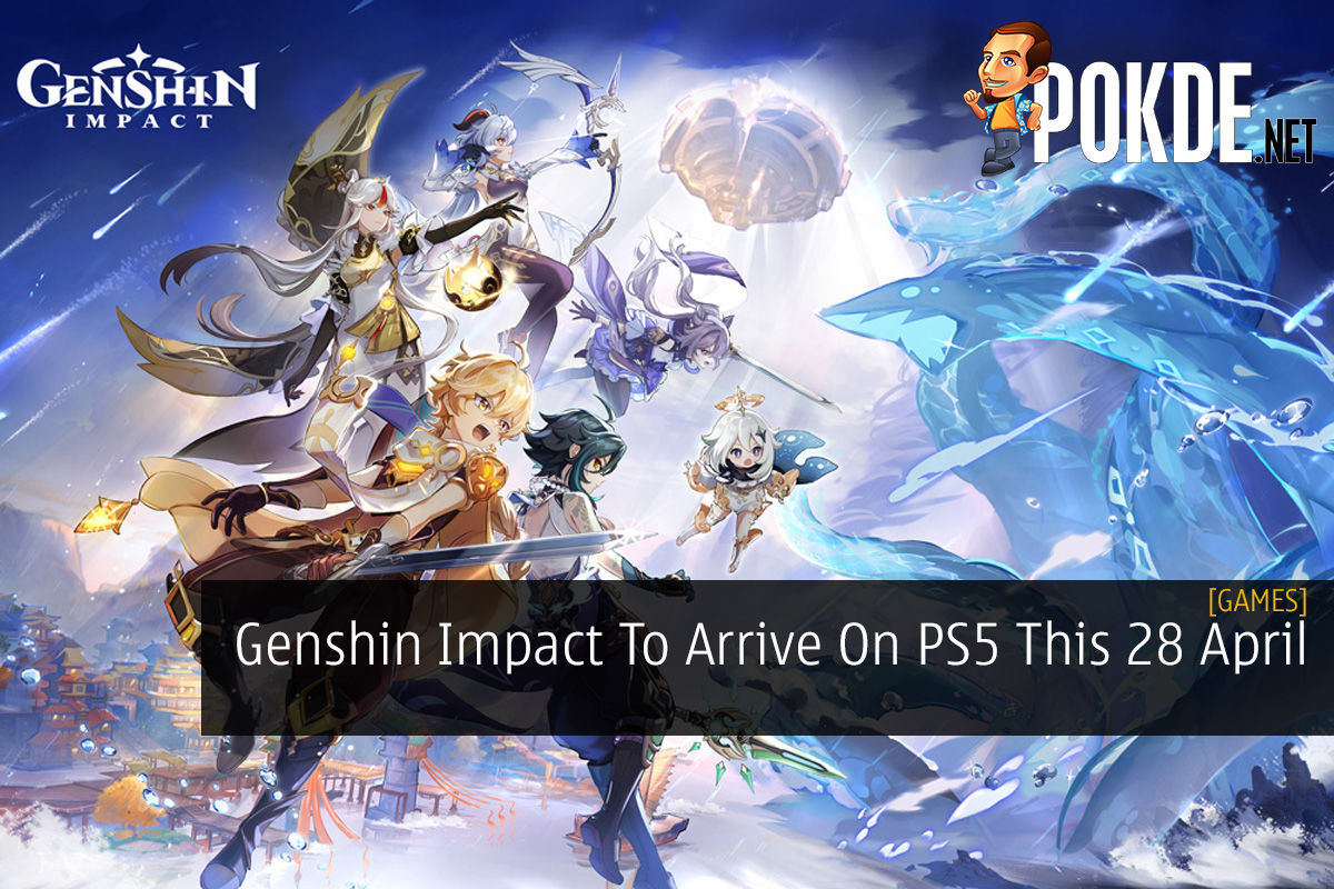 Genshin Impact To Arrive On PS5 This 28 April 8