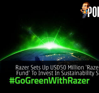 #GoGreenWithRazer USD50 Million 'Razer Green Fund'