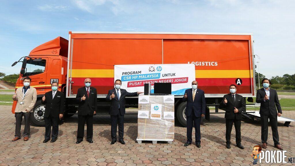 HP Malaysia Donates PCs To Johor Vaccination Centres